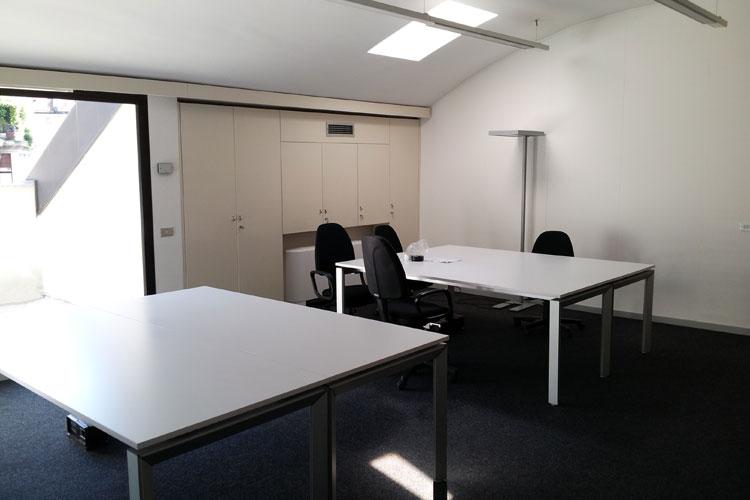 Ristrutturazione uffici Credito Valtellinese di Monza