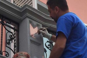 Roberto Zaffino, imbianchino Varese esperto in decorazioni di pregio