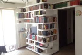 Libreria in cartongesso a Rescaldina