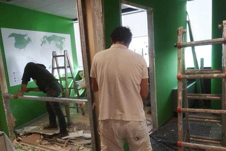 Gallarate ristrutturazione uffici