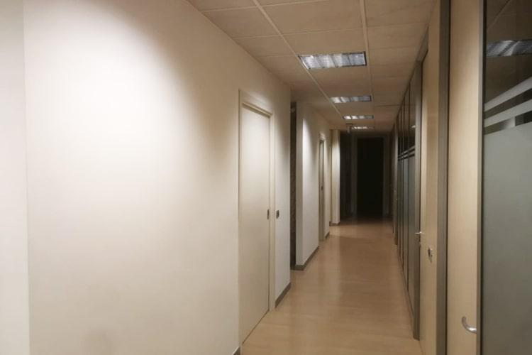 Pareti in cartongesso uffici Gallarate