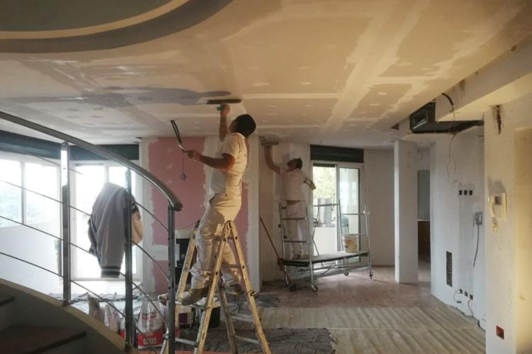 Abbassamento soffitto cartongesso Milano