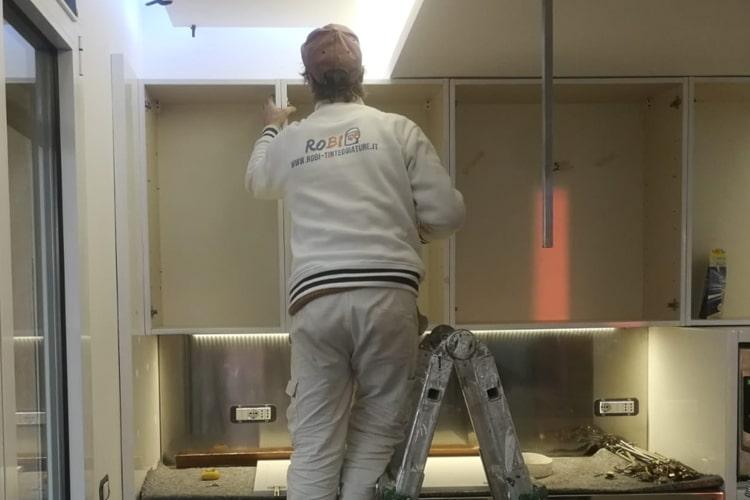 Ristrutturazione immobile Milano cucina